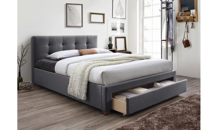Wondrous Up To 47 Off On Brandy King Size Platform Bed Groupon Goods Gmtry Best Dining Table And Chair Ideas Images Gmtryco