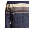 Men's Long Sleeve Crewneck Ribbed Hem Slim Fit Pullover Sweaters