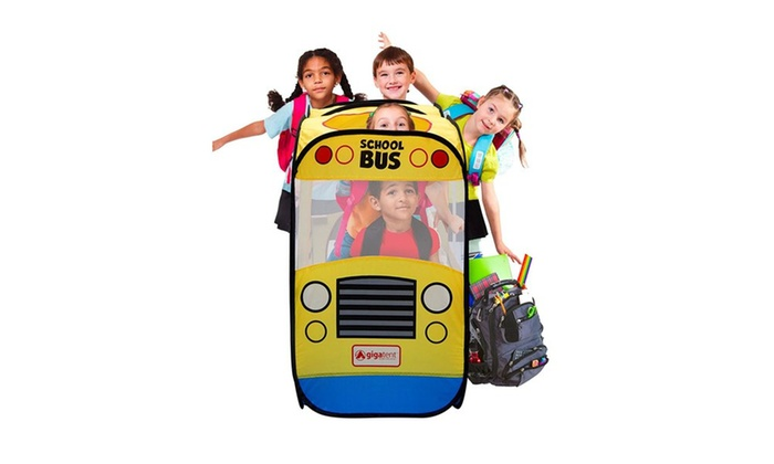 ... My First School Bus Kidsu0027 Play Tent My First School Bus Kidsu0027 Play ...  sc 1 st  Groupon & Up To 48% Off on My First School Bus Play Tent | Groupon Goods