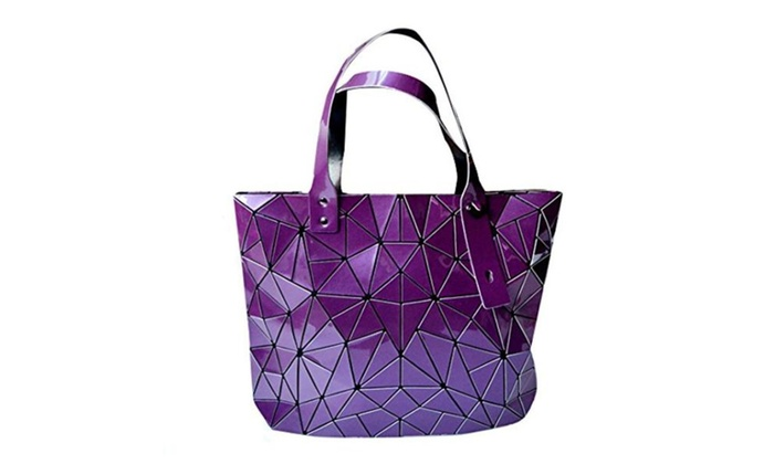 Shoulder Bag Geometric Pattern Top Handle Bag Weekend Tote Bag