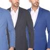Men's Slim-Fit Spring Cotton Blazer