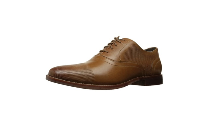 yue lou store: Rockport Men's Derby Room Perf Cap Toe Oxford ...