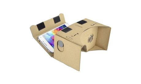 Insten DIY 3D Google Cardboard Virtual Reality Glasses Tool Kit 0d43d5c7-e318-4c0e-9d55-351b0075ea2d