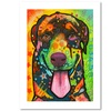 Dean Russo 'Rottie Pup' Paper Art