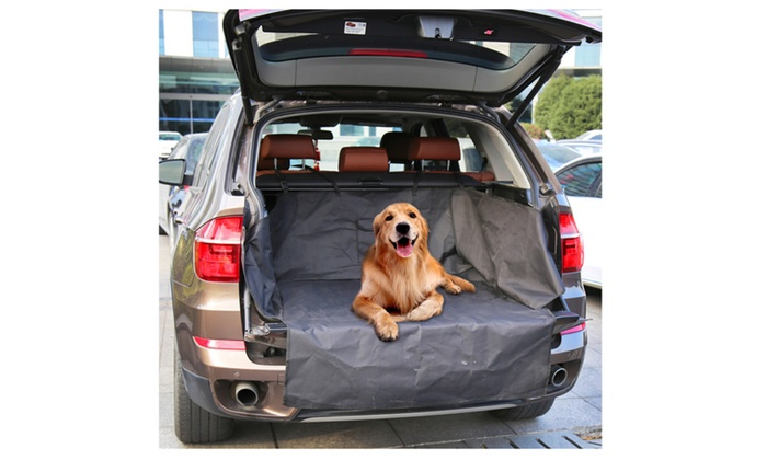 suv trunk cargo liner car seat protector cover for pet waterproof groupon. Black Bedroom Furniture Sets. Home Design Ideas
