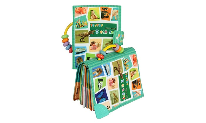 teytoy baby toy soft infant activity baby toys my first word book