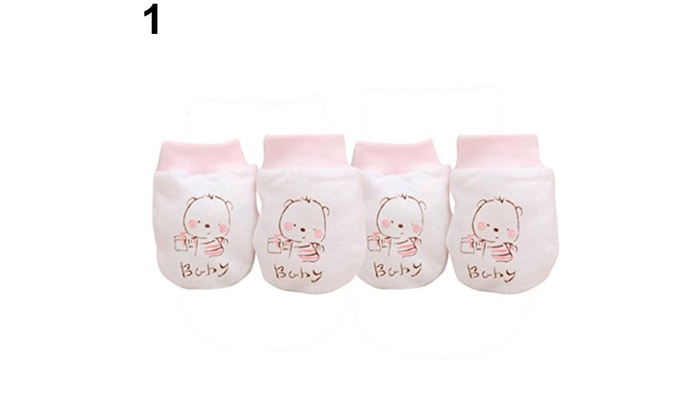 5df94b53a3e7 Up To 55% Off on 2 Pairs Cute Cartoon Baby Inf...