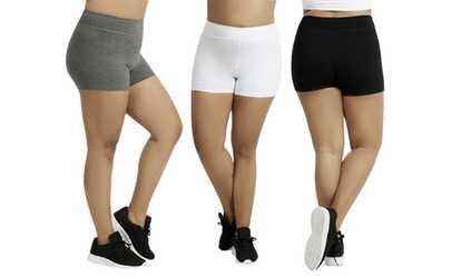a5269df595bac Shop Groupon Women s Plus-Size Cotton-Spandex 12