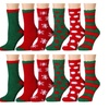 Womens Fuzzy Socks(6 Pairs)Soft Winter Comfort Socks Multicolor,excell