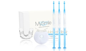 My Smile FDA Approved 18%CP 3ML Teeth Whitening Gel Syringe With LED