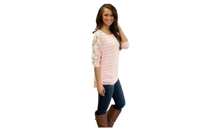 Women's Solid Casual Fashion Crew Neck Solid Tees