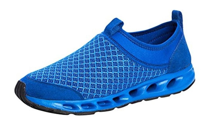 Men's Flat Air Shoes Mesh Running Shoes Outdoor Sneakers