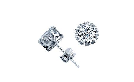 Crown Stud Earrings 827517ba-dec0-45f7-9b24-9317009eab53