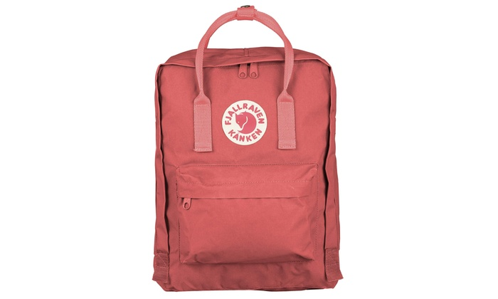 31de2c13d036 Fjallraven - Kanken Classic Backpack for Everyday - Peach Pink | Groupon