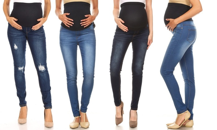 Up To 78 Off On Women S Maternity Distressed Groupon Goods