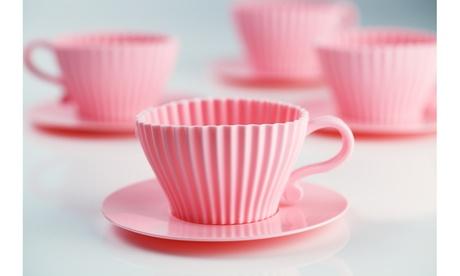 8pc Teacup and Saucer Cake Molds(OC554) a5793e50-3963-4bef-8936-4febcc073894