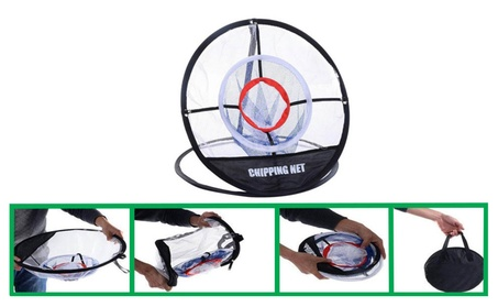 "New Portable 20"" Golf Training Chipping Net Hitting Aid Practice Bag 79b65c6a-2718-4a89-bf94-6b8de5736ce6"