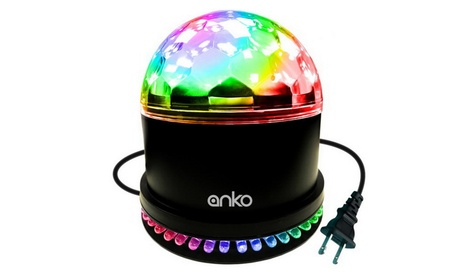 LED Stage Magic Ball Light, ANKO Intelligent Voice RGB Rotating Lights 3c2d0619-5b89-4a21-8eef-a6e7c0a4028c