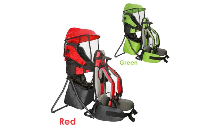 541649962ac Clevr Baby Toddler Backpack Camping Hiking Child Kid Carrier w  Shade