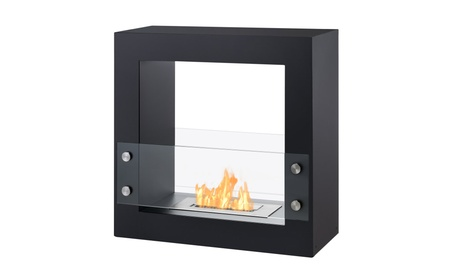Tectum Mini - Freestanding Ventless Ethanol Fireplace By Ignis 675125ac-974c-408c-b86a-a407492052fc