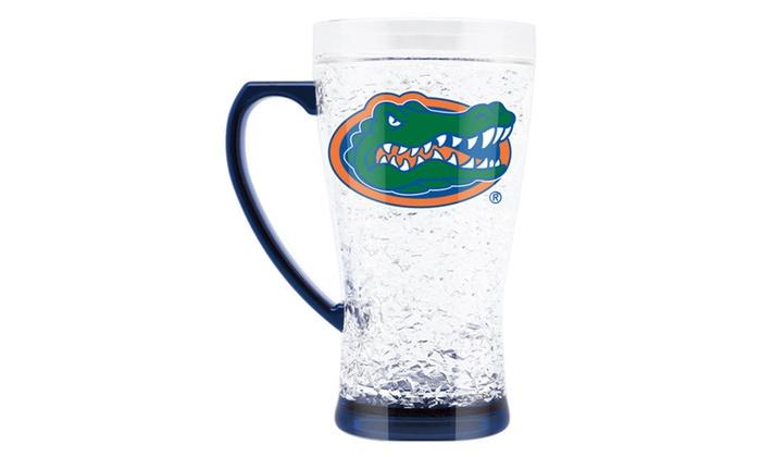 NCAA Tennessee Volunteers 16oz Crystal Freezer Mug