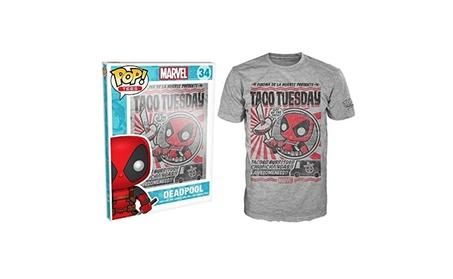 Tezddt Funko Pop!s Marvel Deadpool Chimichanga Adult Tee 9c63c8e0-0455-4898-80e2-abc39ab6575f