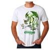 Warpo Cthulhu Illustration Men's White T-shirt NEW Sizes S-2XL
