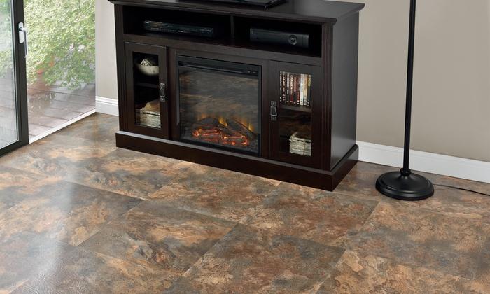 Majestic Rustic Copper Slate 18x18 Floor Tile 10 Tiles225 Sq Ft