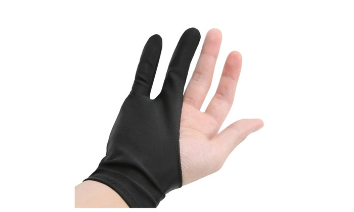 Art Finger Glove For Drawing Tablets Anti Fouling Lycra Glove Groupon