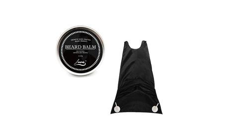 Natural Beard Balm Moustache Moisturizing Cream & Beard Catcher Apron 17931633-671a-4807-8633-37b9ac05e551