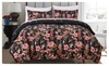 Love in bloom gbkq: King/Queen/Twin Size Printing Duvet Cover Set 3-Piece Bedding Set