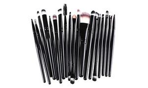 20pcs Makeup BRUSHES Kit Set Powder Foundation Eyeshadow Eyeliner Lip