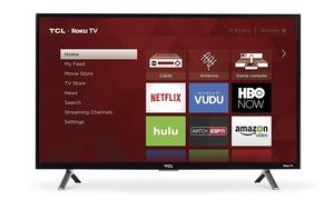 """TCL 32S305 32"""" 720p 60Hz Roku Smart LED TV - Black Refurbished"""