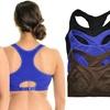 Angelina Double-Layer Medium-Impact Racerback Sports Bras (3-Pack)