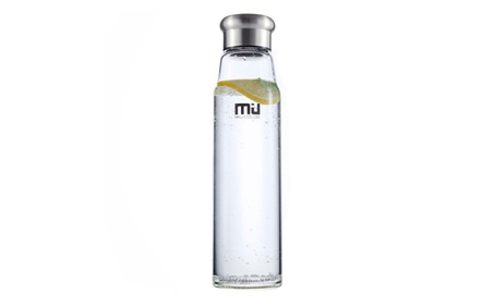 MIU COLOR 24.5 oz Glass Water Bottle with Nylon Sleeve for Outdoor d70306db-1885-4649-a0e3-00b4a7840de0