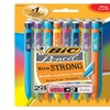 BIC Pencil Xtra Strong (colorful barrels), Thick Point