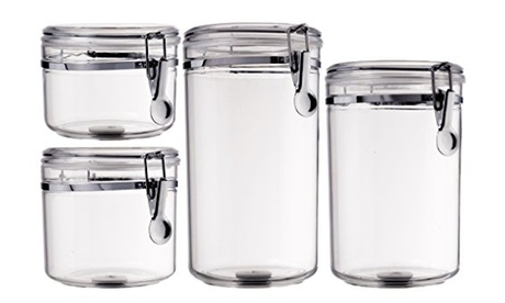 Acrylic Canisters, Food Storage, Kitchen Storage, Containers, Air Tight, Gadget