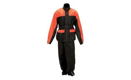 Diamond Plate Motorcycle Rain Suit Lg/XL d45ca7d4-340a-4050-b4f0-36dadfab6447