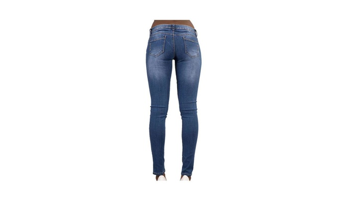 Women's Trendy Distressed Denim Skinny Jeans