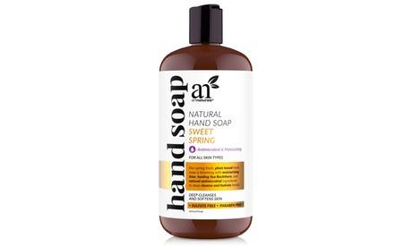 ArtNaturals Liquid Hand Soap 16 Fl Oz, Sweet Spring Scented with Aloe Vera