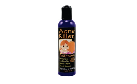 Acne Killer Black Body and Face Wash with Horseradish and Green Tea