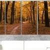"Large Forest Canvas Art Print (5-Panels; 60""x28"")"