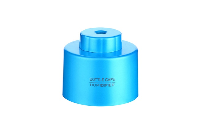 Mini Portable Bottle Cap Humidifier Air Mositure Cleaner