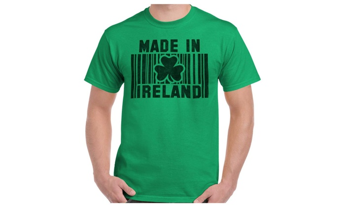 Barcode Ireland Funny Quote Fun Gift Ideas St Patricks Day T Shirt