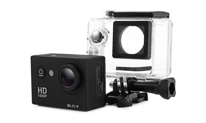 W9 WiFi 1080p Full HD Waterproof Sports Action Camera
