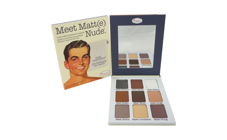 the Balm Meet Matte Nude Eyeshadow Palette 0.9 oz Eyeshadow e5d35edd-f620-4d04-aec7-32336180a8da
