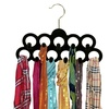 Home Basics Velvet Scarf Hangers (3 or 4-Pack)