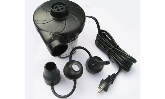 Boat Mattress Tube Pump Intex 120V Quick Fill AC Electric Air Pump w//Nozzles