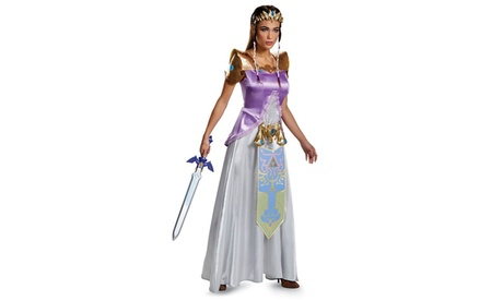 Legend of Zelda Princess Zelda Deluxe Adult Costume da095635-8d4a-40a2-ab3c-8e400efdb43e