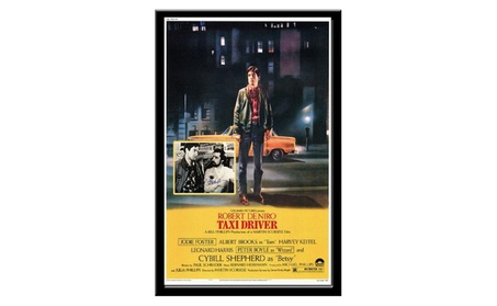 Taxi Driver - Movie Poster with Signed Photo by DeNiro and Scorsese 648274b0-e03d-4be3-8b18-3a062189583e